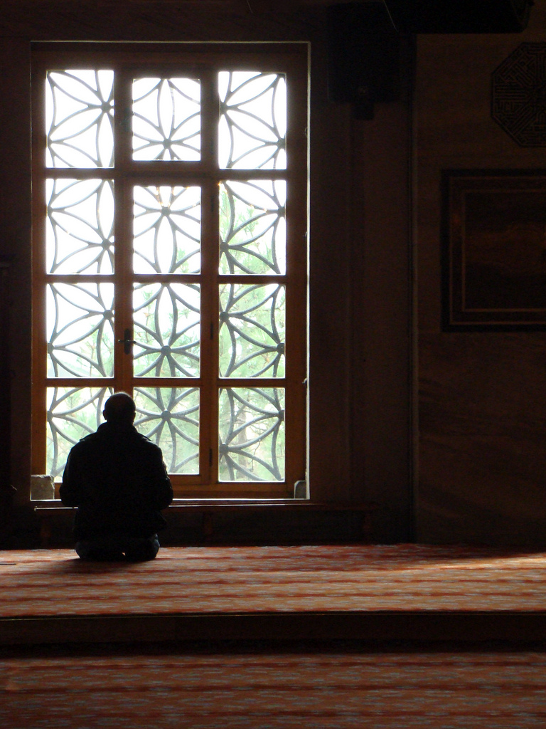 salat -- prayer / From the Blue Mosque in Istanbul